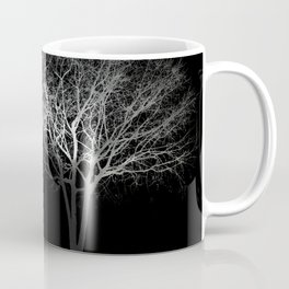 Full Moon Night Cloud Tree Coffee Mug