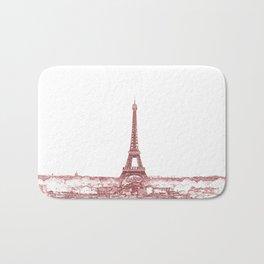 Paris Eiffel Tower Series II by Billy Bernie Bath Mat