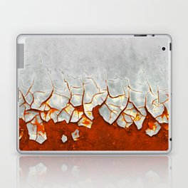 Rust and Grey Laptop & iPad Skin