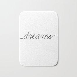 sweet dreams (2 of 2) Bath Mat