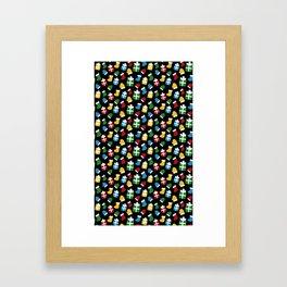Xmas Gifts Framed Art Print