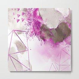 Violette mystique Metal Print