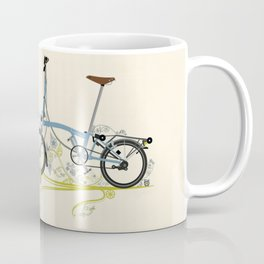 Brompton Bicycle cycling Coffee Mug