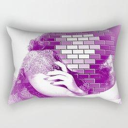 behind the walls of hollywood Rectangular Pillow