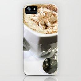 Latte Macchiato iPhone Case