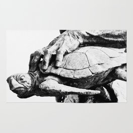 Hand Turtle Rug