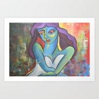 She Chose to Love  Art Print