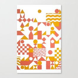 GRID II Canvas Print