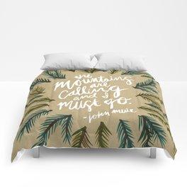 Mountains Calling – Kraft Comforters