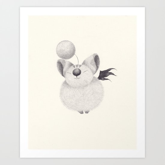 mog Art Print