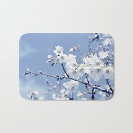 """""""If I had a flower for everytime I thought of you...."""" Bath Mat"""