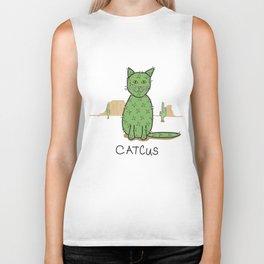 """""""Catcus"""" Cactus Biker Tank"""