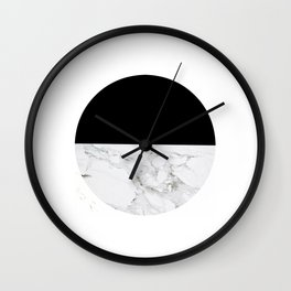 Marble Sunset Wall Clock