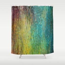 Pine bark Shower Curtain