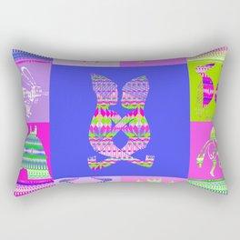 Indian patchworks73 Rectangular Pillow