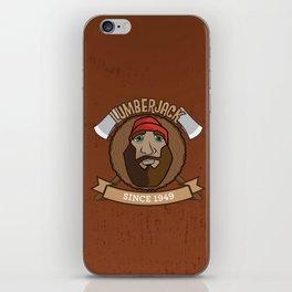 Lumberjack Since 1949 iPhone Skin