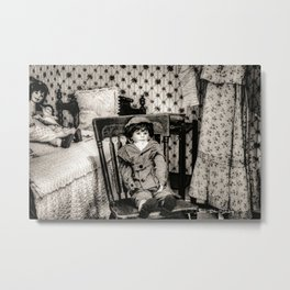 Photo Bomb Metal Print