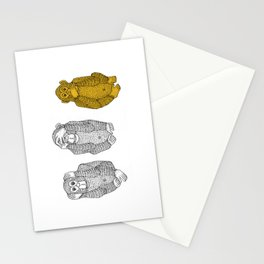 Silence Is Golden Stationery Cards