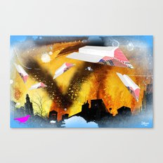 going to mexico Canvas Print