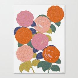 Flowers In Full Bloom Canvas Print