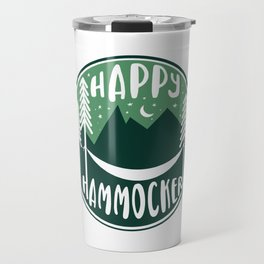 Happy Hammocker - Green Night Sky Travel Mug