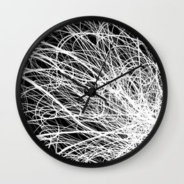 Linear Explosion Wall Clock