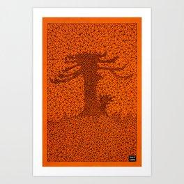 TR2 Araucaria Art Print