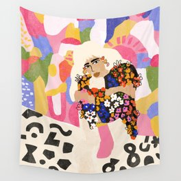 World Full Of Colors Wall Tapestry