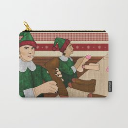 The Naughty List Carry-All Pouch
