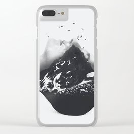Mountain 46 Clear iPhone Case