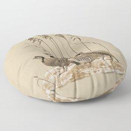 Chukar Partridges Floor Pillow