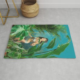 Jane of the Jungle Rug