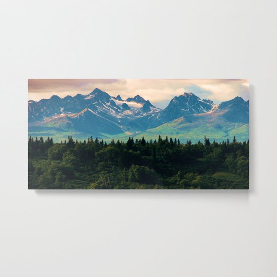 Escaping from woodland heights II Metal Print