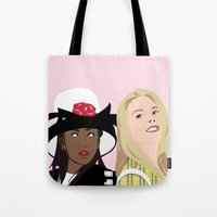 clueless Tote Bags featuring clueless by Britt Whitaker Design