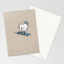 Long Board Chick Stationery Cards