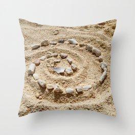 Heart of Te Fiti Throw Pillow