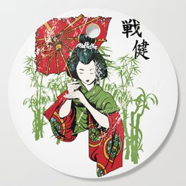 Geisha Cutting Board