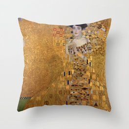 Gustav Klimt Throw Pillow