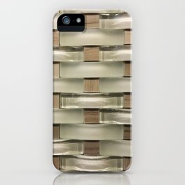 Earth Tone Tile iPhone Case