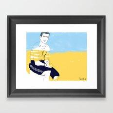 Sur la planche #02 Framed Art Print