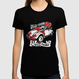 Scary Clown Car, Inspired By The Horror Movie IT T-shirt