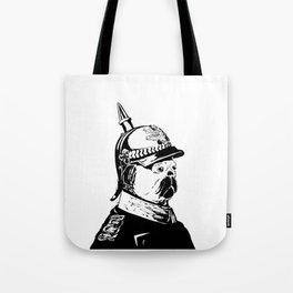 The Emperor Pug Tote Bag