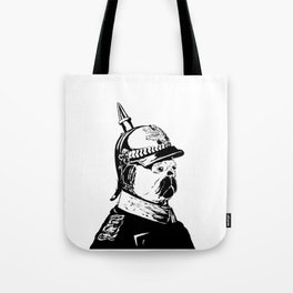 The Emperor Pug Tote Bag