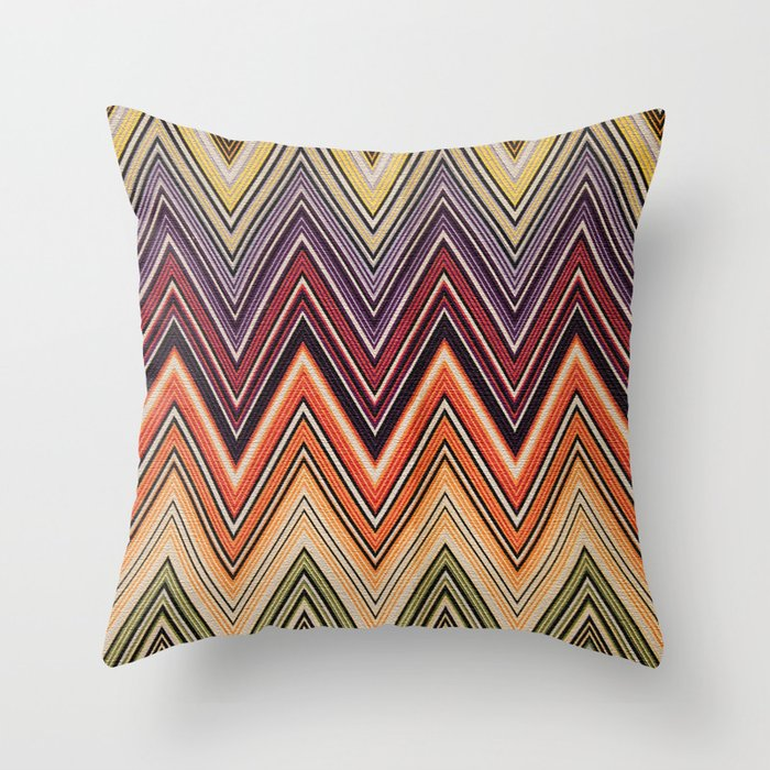 MISSONI Throw Pillow By Lucreziasemenzato Society40 Delectable Missoni Throw Blankets
