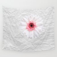 daisy Wall Tapestries featuring Daisy by Mr and Mrs Quirynen