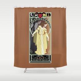Lili Nouveau - Legend Shower Curtain