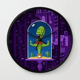 Cactus Creature Wall Clock