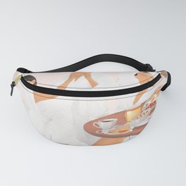 Weekend morning with friends Fanny Pack