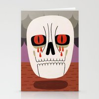 fear Stationery Cards featuring Fear by Jack Teagle