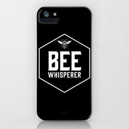 Bee Whisperer iPhone Case